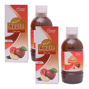 Dindayal Aushadhi Apple Cider Plus Vinegar Weight loss, improves Digestion, Boosts Enegy (Pack of 1000 ml)