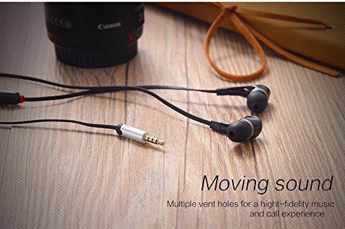 New Style Ohr Handys-Buds Golden Head Handys 3,5mm W/Mikrofon. Freisprecheinrichtung Call für Samsung Galaxy Note 4