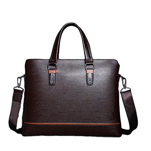 Männer Messenger Bag Umhängetasche Bundle Computer Taschen Business Taschen Aktenkoffer Lift Handtasche Casual Fashion Brown3