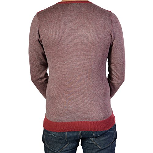Pull Ryujee Perry Bordeaux Rouge