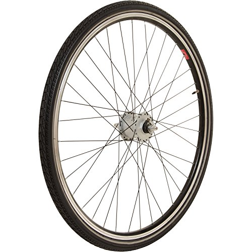 38c Farbe (MEGHNA 700 x 38C Trekking-/City Reifen 700 x 38c (40-622) Fahrrad, Farbe:Schwarz)