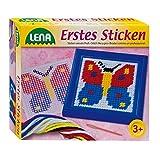 SIMM Spielwaren Lena 42611 - Erstes Sticken, Schmetterling