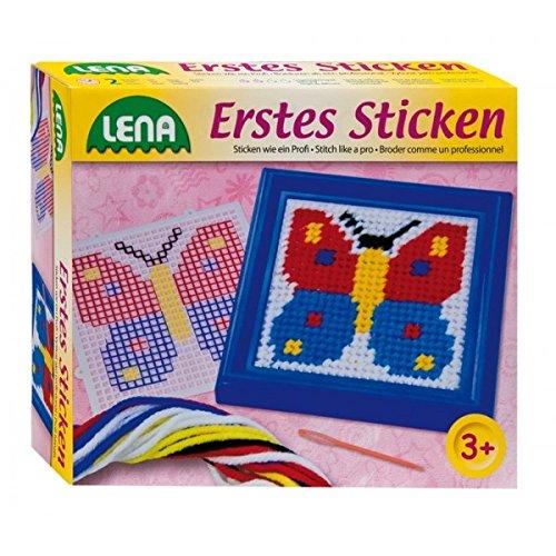 Lena 42611 - Erstes Sticken, Schmetterling