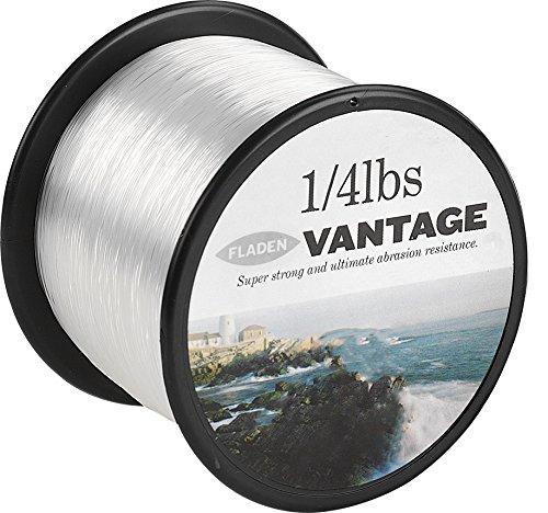 Fladen Vantage Pro Angelschnur auf 113 g Spulen Transparent Farblos 18lbs