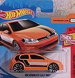 Hot Wheels 2018 Volkswagen Golf MK7 Orange 10/10 Then and Now 21/365 (Short Card)