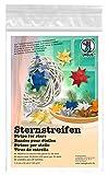 Ursus 3210089 - Sternstreifen aus Tonzeichenpapier, 130 g/qm, 1,5 x 50 cm, 80 Streifen, Silber