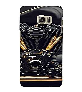 PrintVisa Exotic Bike Design 3D Hard Polycarbonate Designer Back Case Cover for Samsung Galaxy S6 Edge+ Plus