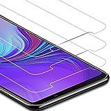 Zloer [Pack de 3] Samsung Galaxy A9 2018 Film Protection Ecran Verre Trempé - [9H Dureté] [Anti Rayures] [sans Bulles, Facile à Installer] Protection Ecran Samsung Galaxy A9 2018