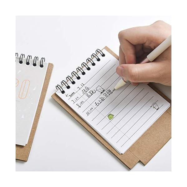 RROVE 2020 Table Calendar Cute Cartoon Desktop Paper Calendar, Multi-Function Timetable Plan Notebook 2