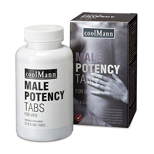 Potency 60 Tabletten (CoolMann Male Potency, 60 Tabletten)