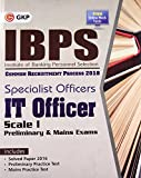 IBPS Specialist Officers IT Officer Scale I 2018