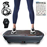 Skandika V1 Single Motor Vibration Plate, Grau, One Size