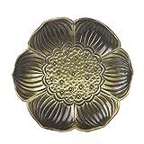 KINTRADE Metall Ahorn Lotus Leaf Coaster Tisch Tee Tasse Matte Halter Tischset Geschirr Blau Gold1