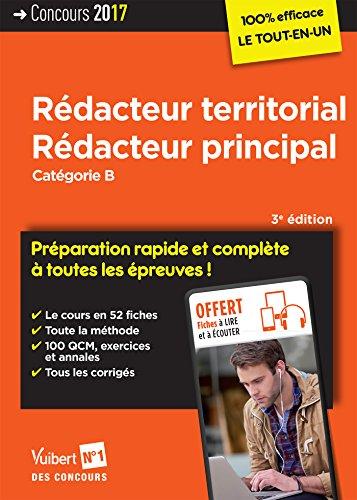 Rédacteur territorial, rédacteur principal : catégorie B / Luc Deslandes,...Fabienne Geninasca,... Pierre-Brice Lebrun,... , [et al.].- Paris : Vuibert , DL 2017, cop. 2017