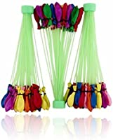 Magicwand 60 Seconds Fill & Automatic 111 Tie Multi Colored Magic Water Balloons