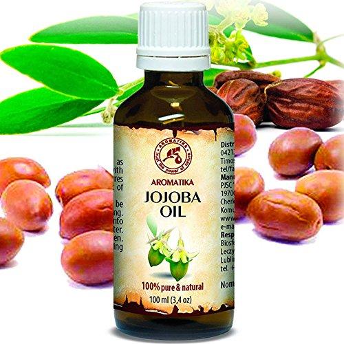 Jojoba Oil Cold Pressed Pure & Natural 100ml - Argentina - Simmondsia Chinensis Seed Oil