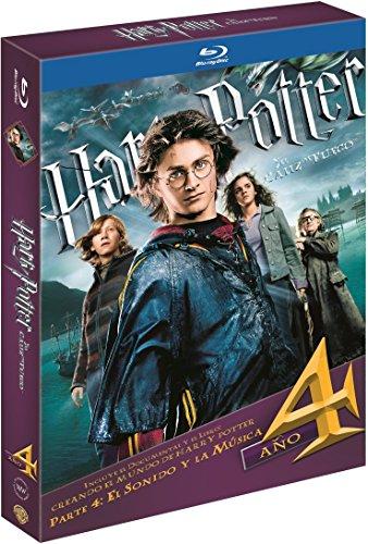 Harry Potter Y El Cáliz De Fuego. Nueva Edición Con Libro Blu-Ray [Blu-ray]