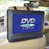 Gemini_mall� 9 Inch Car Headrest Mount Holder Strap Case for Swivel & Flip Style Portable DVD Player