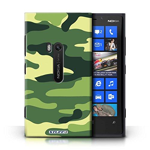 Coque en plastique pour Nokia Lumia 920 Collection Armée/Camouflage - Vert 3 Vert 2