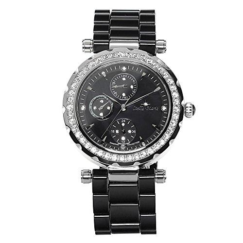 Stella Maris Damen-Armbanduhr Analog Quarz Premium Keramik Diamanten - STM15R2