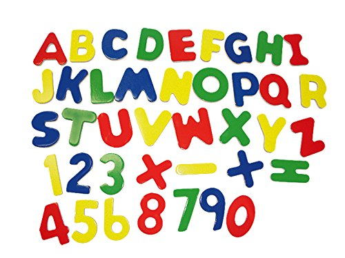 beluga Spielwaren Letras magnéticas Tarjetas y Establecer el número de