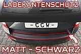 3er E90 Ladekantenschutz + RAKEL + ANLEITUNG Limo Limousine in MATT SCHWARZ Folie - passend für 3er E90 Limo Limousine Schutzfolie von CCW©