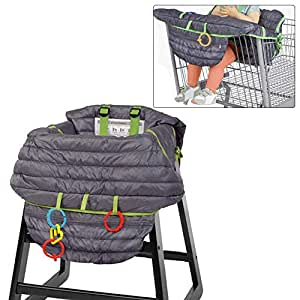 100 Percent Luerme High Chair Cover Ultra Plush Seat Pad Shopping Cart Cover