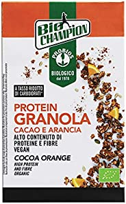 Probios Protein Granola Cacao e Arancia Bio - Senza Glutine - Confezione da 6 x 250 g