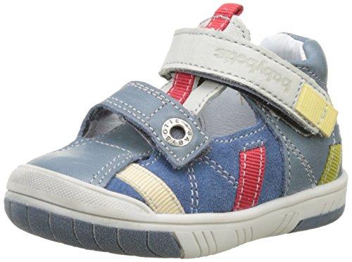 babybotte - Steppe, Pantofole a Stivaletto Bambino Blu (Jeans)