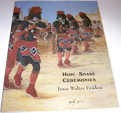 Hopi Snake Ceremonies: An Eyewitness Account -