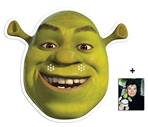 Shrek Single Karte Partei Gesichtsmasken (Maske) Enthält 6X4 (15X10Cm) starfoto