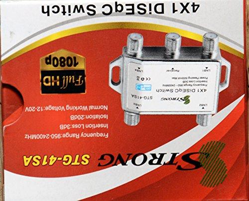 SBT STRONG STG-41SA 4X1 DISEqC SWITCH