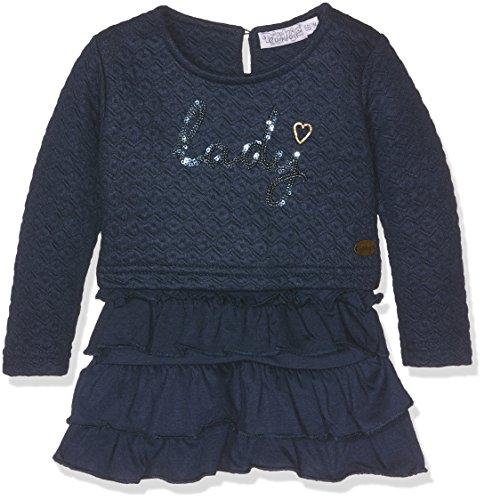 Dirkje Baby-Mädchen Rock 32 x-26416h-Dress with Frills Blau (Navy), 3-6 Monate (Herstellergröße: 62)