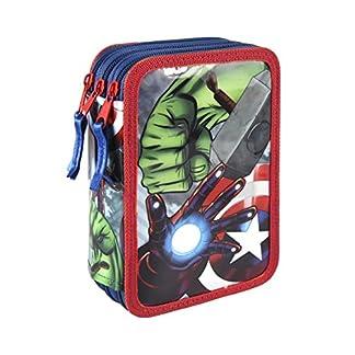 Avengers – Plumier relleno con giotto premium (Artesanía Cerdá 2700000185)