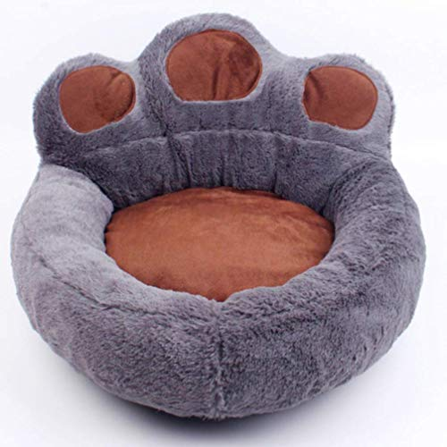 LA VIE Cama Sofá Redondo Mascotas Forma Garra Cesta
