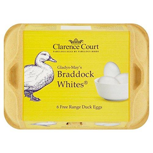 Clarence Court Ente Free Range Eggs 6 pro Packung (Königreich-ente Vereinigtes)