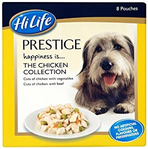 Hilife Prestige Dog Food Chicken Collection Multipacks X 8 Pack Of 3 Total 24 Pots by Town & Country Petfoods Ltd