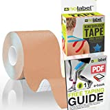 Skin Coloured Beige Kinesiology Tape - Sports Tape 5m Medical Muscle Tape For Injury Taping of Plantar Fasciitis Shin Splints Elbow Shoulder Knee   Pro Athletic Manual Ultra Stick Coloured H20 Waterproof Body Tape   Free Prime Delivery   Bulk Discount