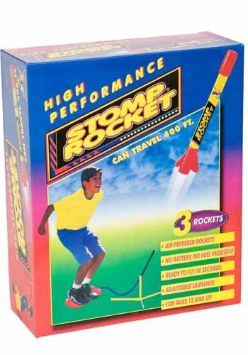 Stomp Rocket, Rakete mit Startrampe
