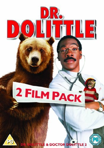Dr. Dolittle 1 and 2 Double Pack [DVD] [1998] by Eddie Murphy