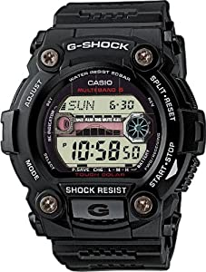 Reloj de caballero CASIO G-Shock GW-7900-1ER de cuarzo, correa de resina color negro (con radio, cronómetro, luz) de Casio