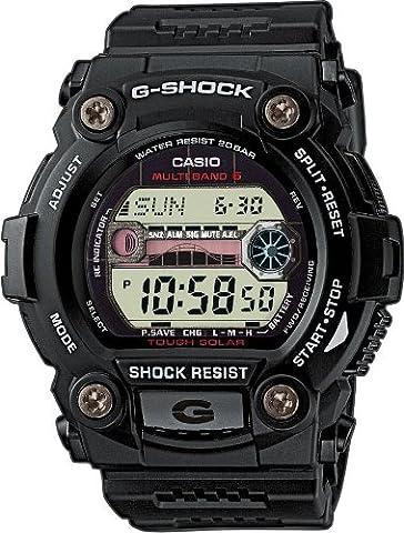 Casio Herren Armbanduhr G-Shock Funk-Solar-Kollektion Digital Quarz Schwarz Resin Gw-7900-1Er