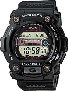 Casio - Homme - GW-7900-1ER - G-Shock - Quartz Digitale - Cadran Blanc - Noir - Résine