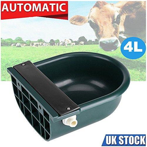 Zantec 4L Automatische Wasser Schüssel Float Ball Typ Wasser Feeder Wasserspender für Schafe Hund Pferd Kuh Hund Schafe Ziege (Feeder Pferd)