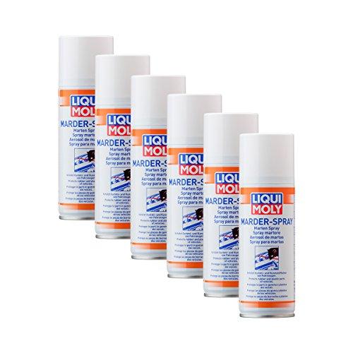Preisvergleich Produktbild 6x LIQUI MOLY 1515 Marder- Schutz Spray 200ml