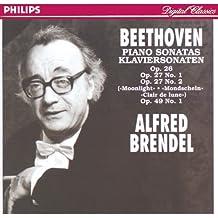 """Beethoven: Sonatas Op.26, Op.27 No.1, Op.27 No.2 """"Moonlight"""" & Op.49 No.1"""