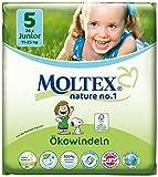Moltex Nature No. 1 Ökowindeln, Größe 5 (Junior), 11-25 kg, (1 x 26 Windeln)