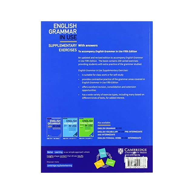 A Self-study Reference and Practice Book for Intermediate