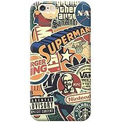 Coque Housse TPU pour Tous Les modèles Apple iphone x 8 7 6 6 5 5s Plus 4 4s 5c Se - M05 GTA Burger King Marvel, KFC, Starbucks Parental, IPHONE 8