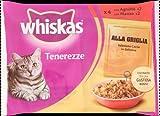 Whiskas Tenerezze Carne alla Griglia 13 X 4 x 85gr